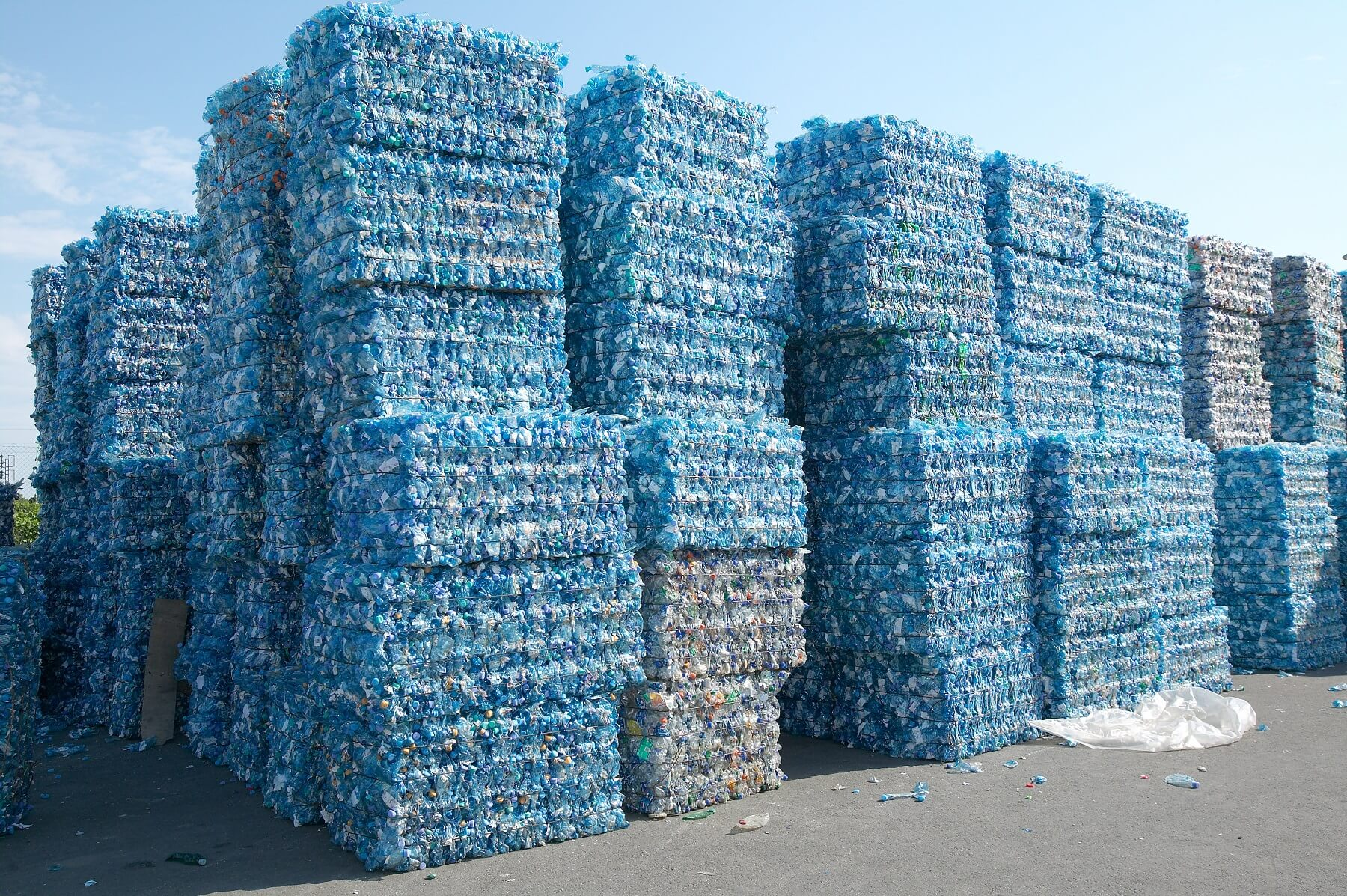 תהליך מיחזור פלסטיק